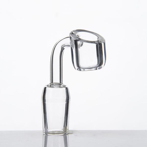 top popular DHL 4mm Banger Domeless quartz nail 14mm 18mm 10mm male female oil rig dab glass bong 2021
