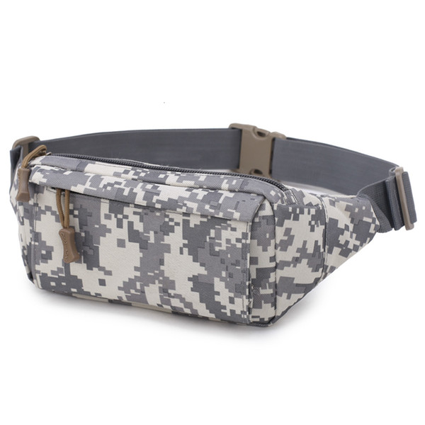 best selling Density Oxford High Cloth Men's Waist Bag Waterproof Abrasion Resistant Outdoor Sport Bumbag For Running Hiking Climbing.