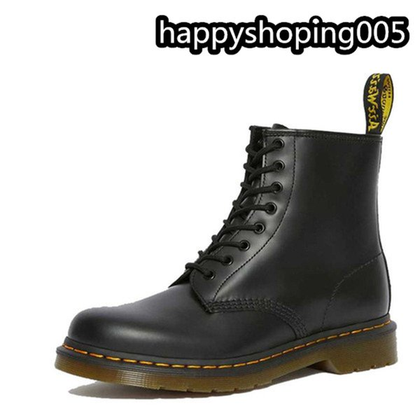 top popular 2020 fashion trend man boots leather women's shoes fur winter leisure comfortable Martin boots 36-44 2021