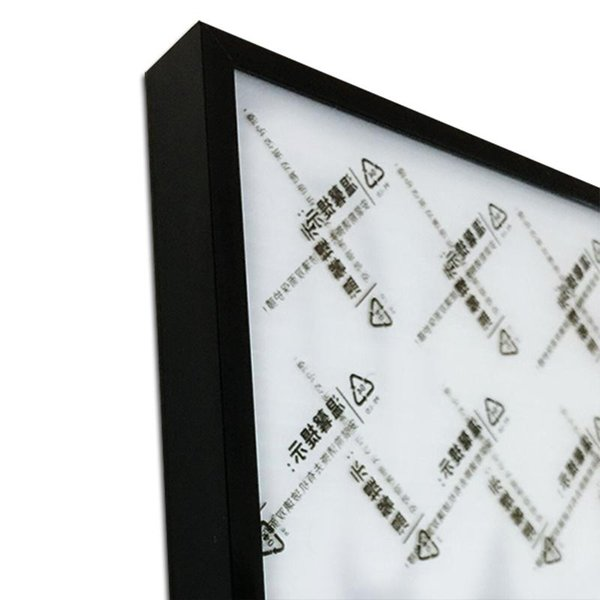 Black Photo Frame 15x20cm 8 pollici