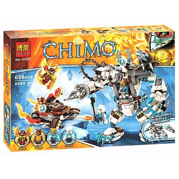 best selling 629pcs Chimaed Icebites Claw Driller Mech Robots Blaster Bike Buidling Blocks Model 70223 Toys for Children birthday Gifts Q1217