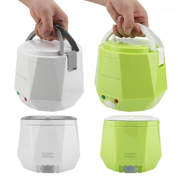 best selling 12V 100W 1.3 L Portable Rice Cooker Multifunctional Electric Rice Steamer for Car Heating Lunch Box Containers Hot Pot1