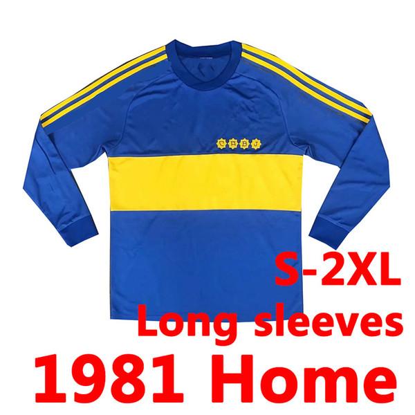 1981 Home Long Sleeves