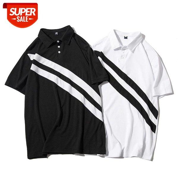 best selling Men Short Sleeve Shirt Men Summer Tops New Style Black and White-Short Sleeve Casual Short #6h13