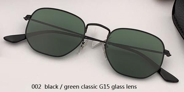 002 black/green classic G15 lens