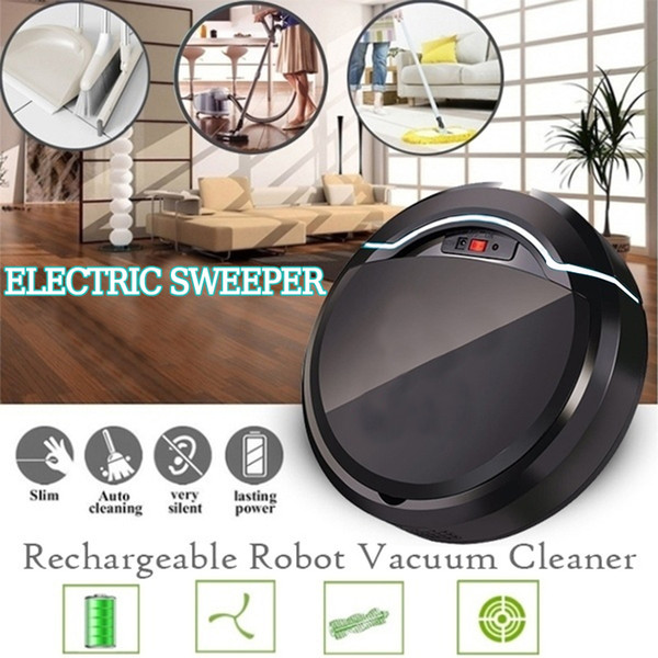 best selling USB Rechargeable Automatic Vacuum Cleaner Robot for Home Office Dry and Wet Mopping Smart Sweeper Smart Floor Cleaning Robot Y200320