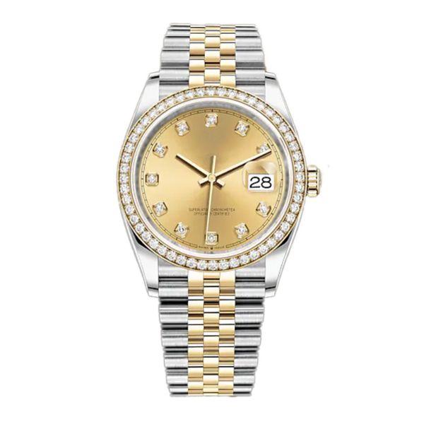 top popular Watchbr-U1 41mm 36mm Automatic Mechanical Mens Watches Bezel Stainless Steel Women Diamond Watch Lady Watch Waterproof Luminous Wristwatches 2021