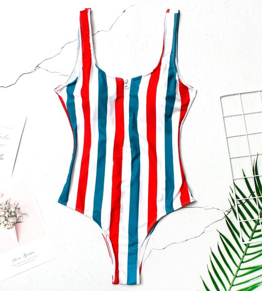 Blue And Red Stripes
