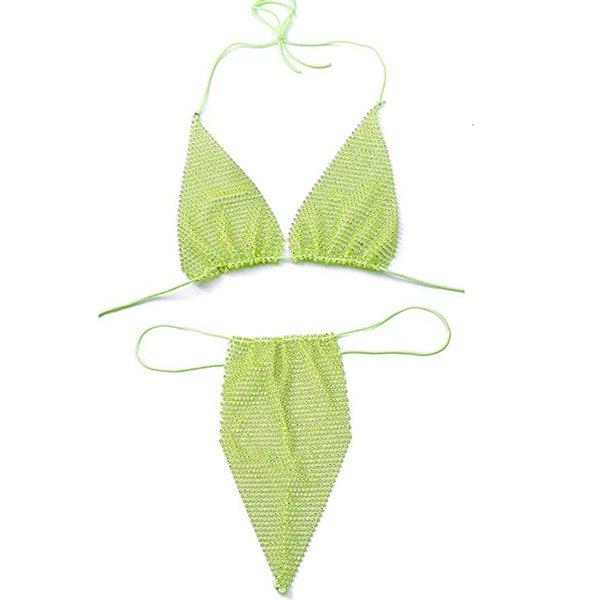 Неоновый зеленый