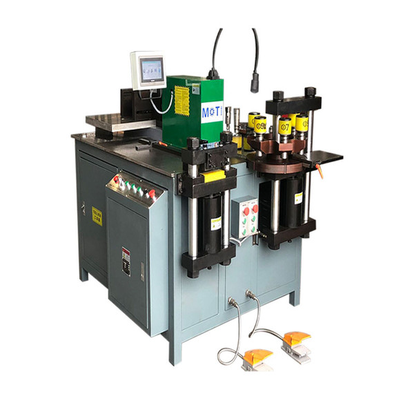 top popular Easy To Operate Aluminum Busbar Machine For Punching Metal 2020