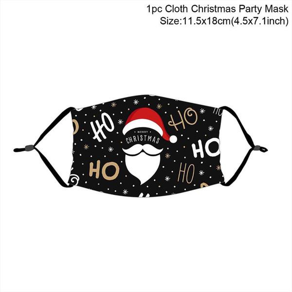 máscara de Natal 12