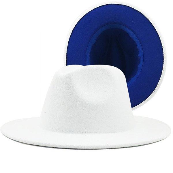 الأبيض والأزرق