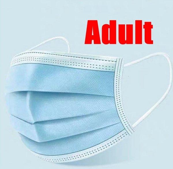 Yetişkin Mavi Maske