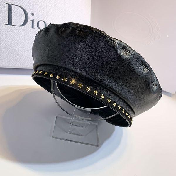 Cuero negro-M (56-58cm)