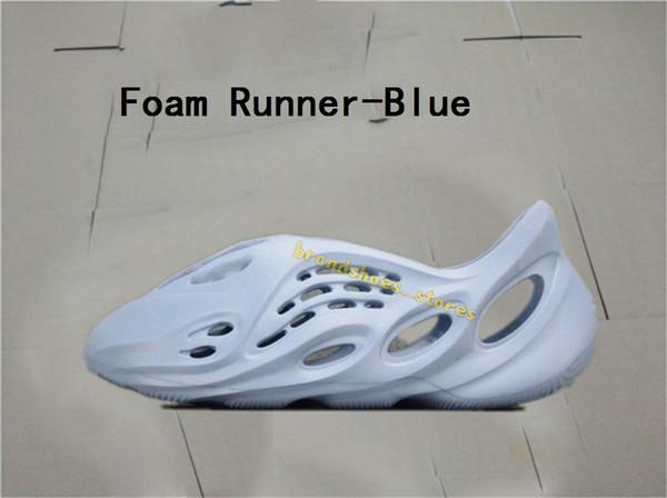 Köpük koşucu-mavi
