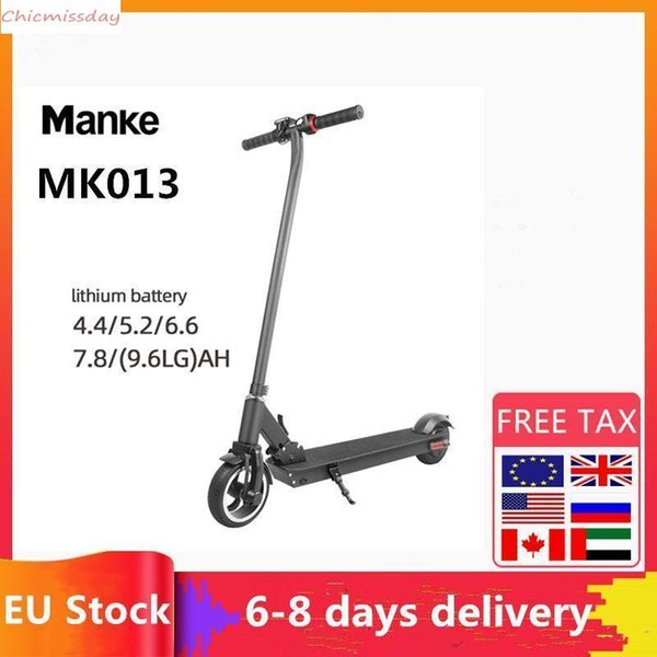 Manke EU STOCK Free Fast Shipping, deliver 3-5 Days Waterproof Kick Scooter Electric Scooter Adult Scooter Off-road E-scooter MK013