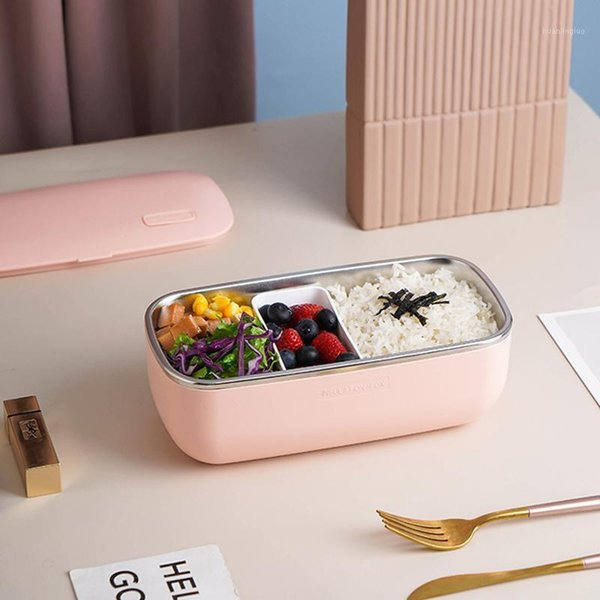 best selling 1L Electric Lunch Box Rice Cooker Portable Lunch Heating Box Constant Temperature Heating Warmer 316 Stainless Steel 24V1