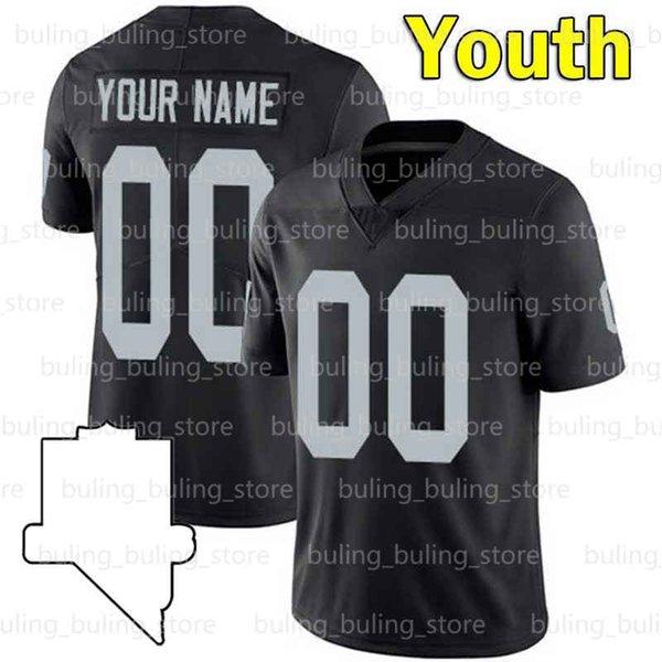 Jersey della gioventù personalizzato (t x z) + patch