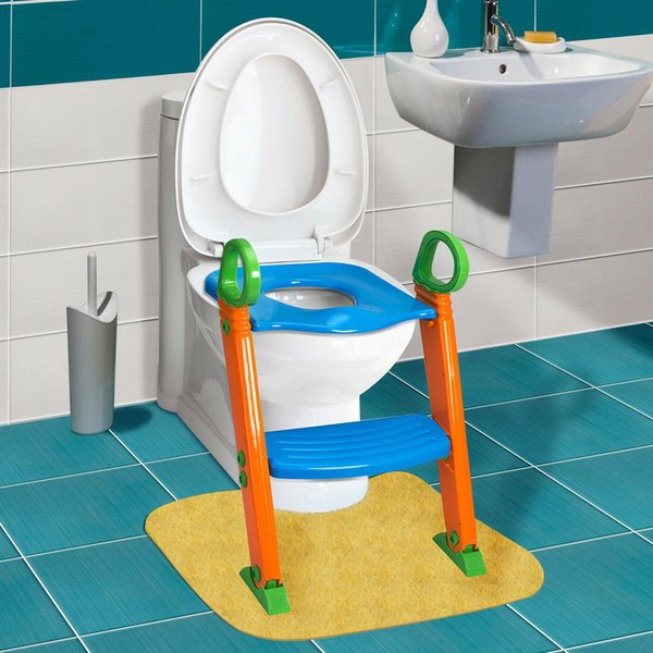top popular Kids Potty Training Seat with Step Stool Ladder for Child Toddler Toilet Chair 2021