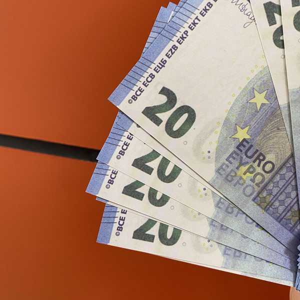 best selling Bar prop money faux billet 20 Euro prop money party children's toys adult game 100pcs pack