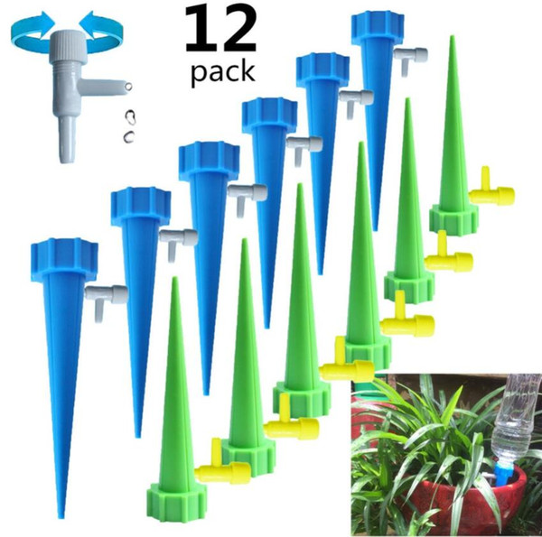 top popular Auto Drip Irrigation Watering System Dripper Spike Kits Garden Household Plant Flower Automatic Waterer Tools for Potted Flower Energy Save 2021