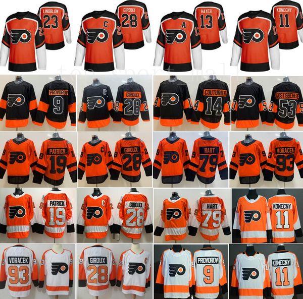 best selling Philadelphia Flyers Jersey Claude Giroux Travis Konecny Ivan Provorov Carter Hart Jakub Voracek Sean Couturier Lil Peep Nolan Patrick Hayes