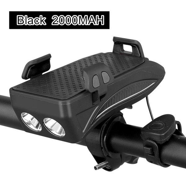 Black 2000mah