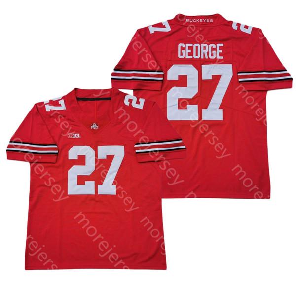 27 Eddie George Red