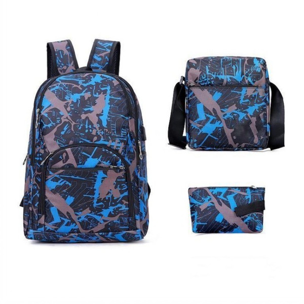 best selling 2021-23 TOP QUALITY outdoor bags camouflage travel backpack computer bag Oxford Brake chain middle school student bag many colors