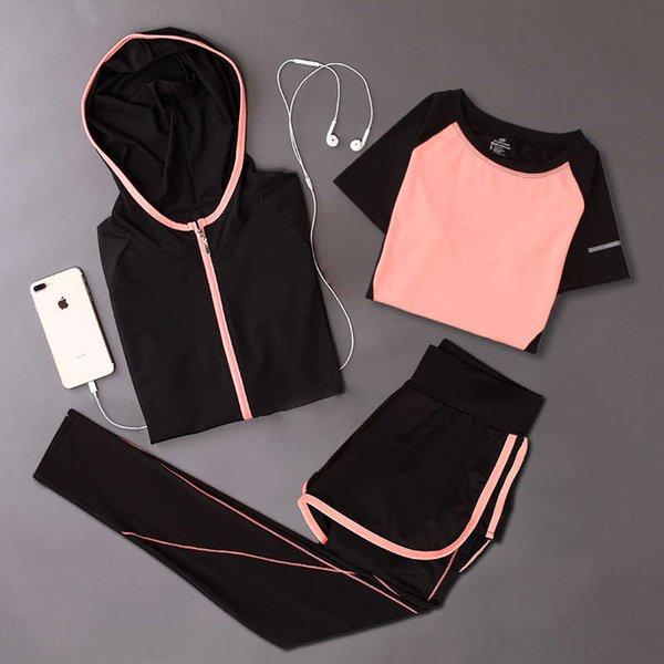 桔色 外套 + 桔色 弧线 t 恤 + 桔色 弧线 长裤