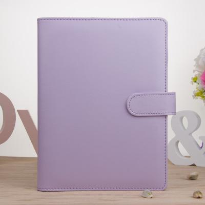 A6 púrpura sin papel