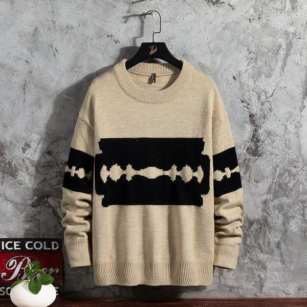 Suéter amarillo hombres