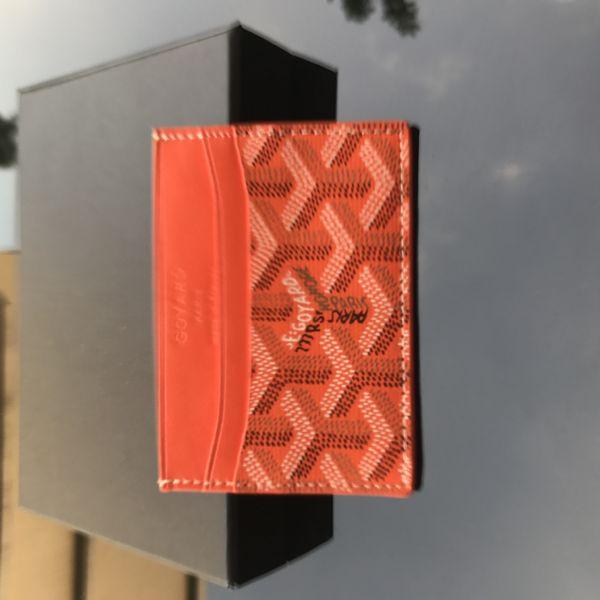 Orange - Card Case