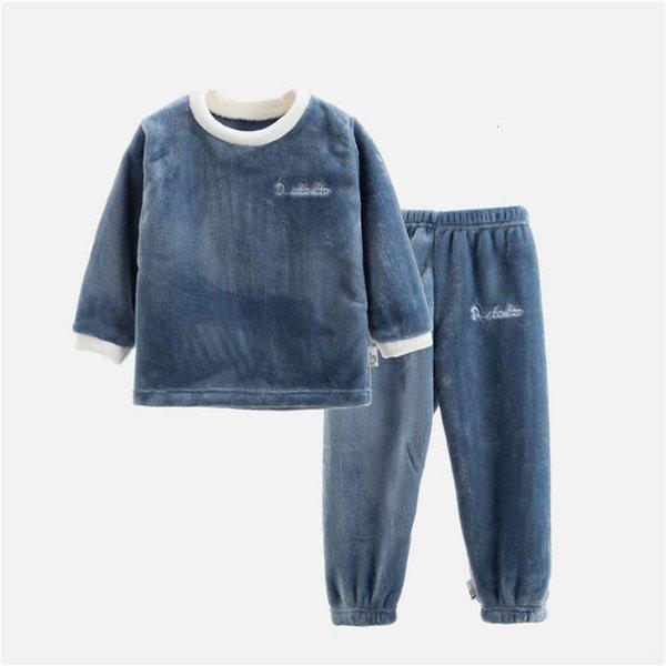 Flannel Long Blue