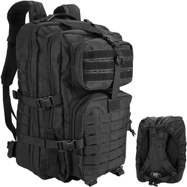 best selling Kosse Tactical Backpack, 48L Large Rucksack 3 Day Outdoor Assault Molle Pack Go Bag Backpacks