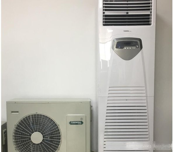 top popular 36000BTU vertical cabinet type air conditioning 220V cabinet air conditioner 2020