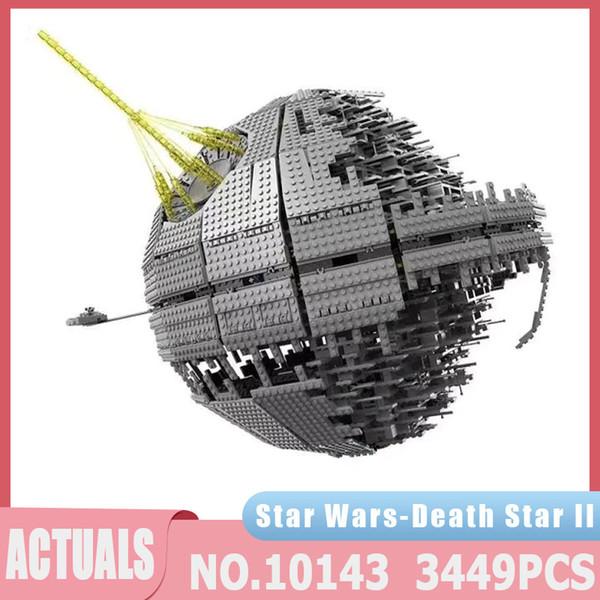 best selling Star Plan Series 05026 3449PCS MOC UCS Death Star II Ultimate Weapon Super Laser Kits Building Block Bricks Toys Christmas Gifts J1204