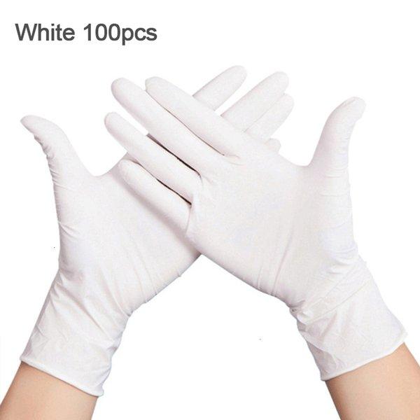 Weiß 100pcs-L