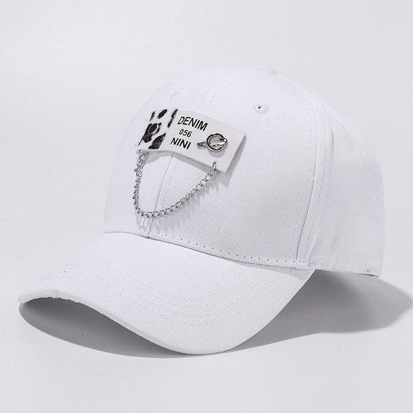 C3169-2 Lettre léopard Blanc