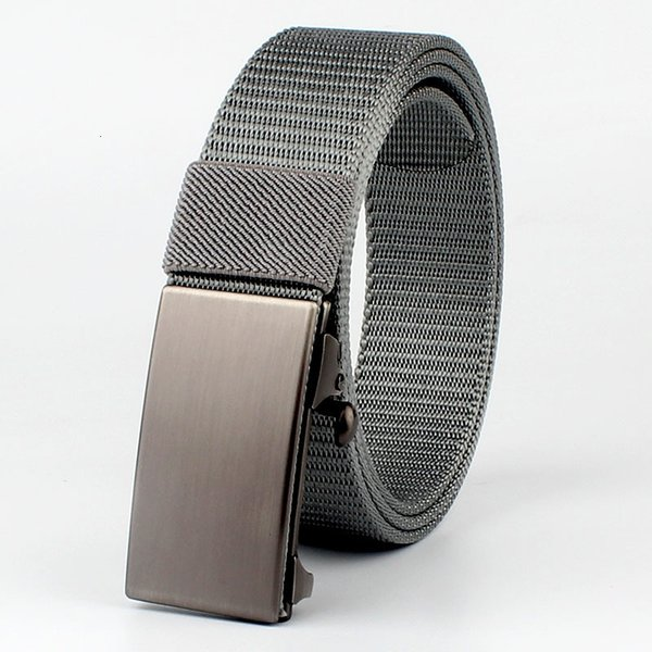 Grey Buckle And Silver Belt