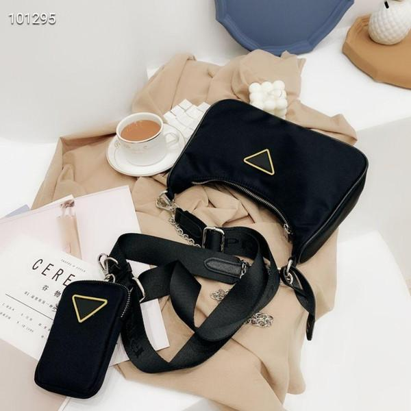 top popular Luxury Designer Totes Bags high quality nylon Handbags wallet women bags Crossbody bag Hobo purses Two-tone Plain Fashion Bags Cross Body 2021