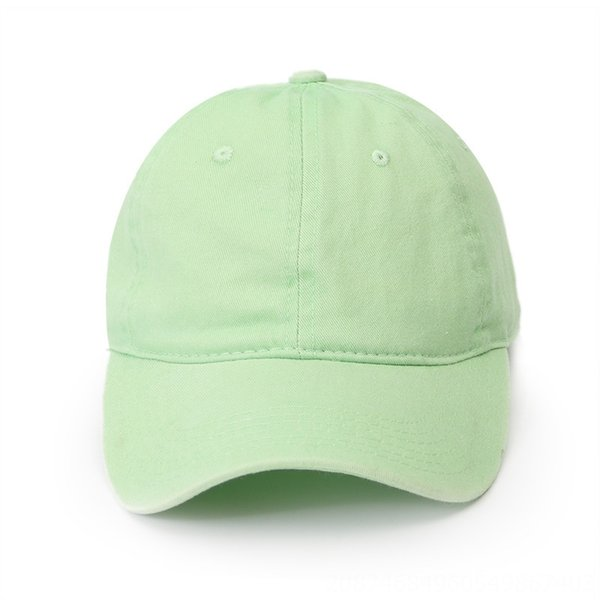 Frische grüne Baseballmütze
