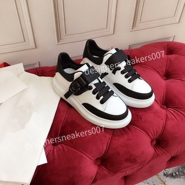 2021the New arrival Casual Shoes White Black Red Fashion Mens Women Leather Breathable Shoes Open Low sports Sneakers hc191003