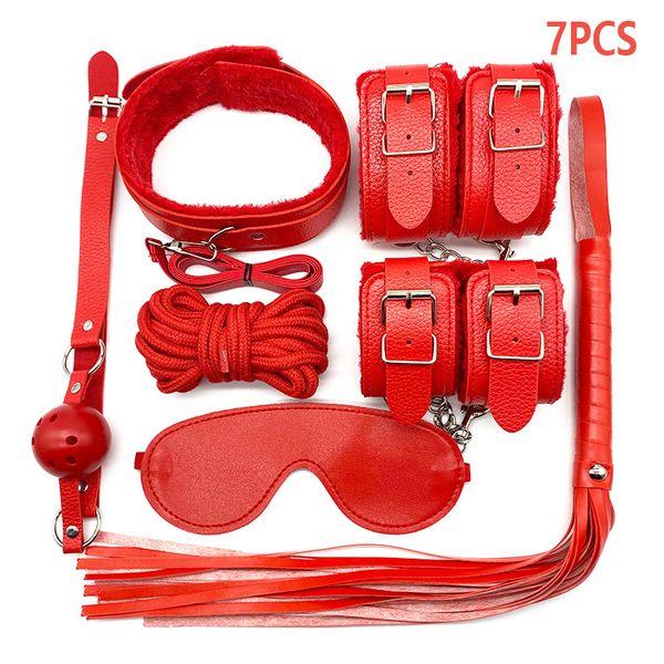 Pu 7pcs Red