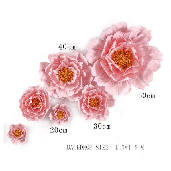 الوردي الخفيف 6PCS.
