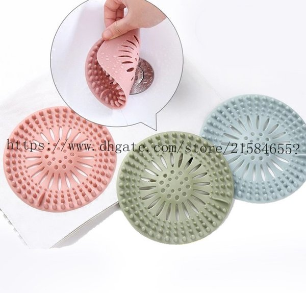 top popular Kitchen Sink Filter Stopper Sewer Drain Hair Colanders Strainers Filter Bathroom Drain Kitchen Sink Home Cleaning Tool 2021