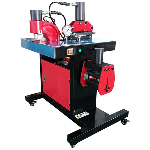 top popular Small 200 Copper and Aluminum Bus Bar Processing Machine Manufacturers With Hydraulic Pump System 2020