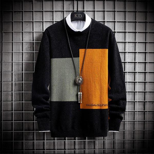 Orange Pullover Männer