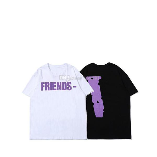 best selling T shirt Men Women High Quality 100% Cotton Hip Hop Top Tees Friends Women Clothes size S-XL