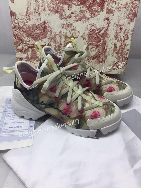 the Woman Sandals Floral brocade Mens Fashion Slippers White Gear Bottoms Flip Flops Womens Slides Casual Flats slipper bn190518